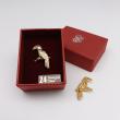 [785] Burung Kenyalang (Gold)