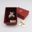 [782] Nyonya Beaded Shoes (Gold)