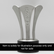 Customized Pewter Award with Solid Wood