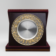 "[874G] Flower Design (Gold) (8""x8"" inches)"