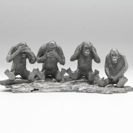 [143] Four Monkeys