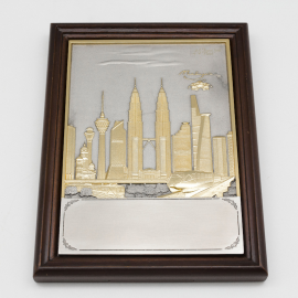 "[413G] KL Design (Gold) (6"" x 8"" inches)"