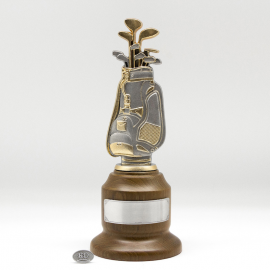 [515] Golf Trophy (Gold) (L)