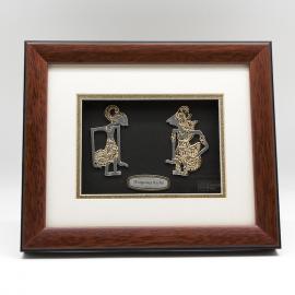 "[554] Wayang Kulit (Gold) (10"" x 8"" inches)"