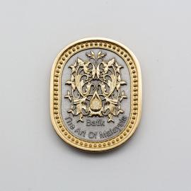 [588G] Batik Design (Gold)