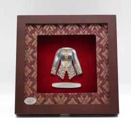 """[608G] Baju Kebaya (Gold) (8"""" x 8"""" inches)"""