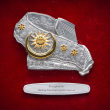 "[626] Tengkolok (Gold) (8"" x 8"" inches)"