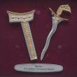 "[632] Keris (Gold) (8"" x 8"" inches)"
