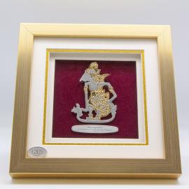 "[635] Wayang Kulit (Gold) (8"" x 8"" inches)"