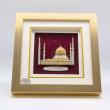 "[631] Mosque Sultan Salahuddin Abdul Aziz (Gold) (8"" x 8"" inches)"