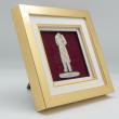 """[639] Baju Melayu (Gold) (8"""" x 8"""" inches)"""