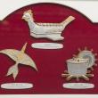 "[649] Congkak, Wau Kucing & Rebana Ubi (Gold) (13"" x 11"" inches)"