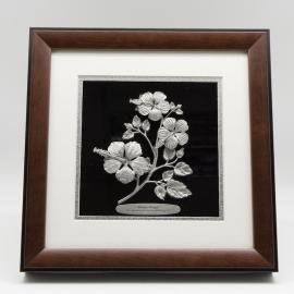 "[675] Bunga Raya (10"" x 10"" inches)"
