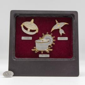 [687] Wau Bulan & Wau Kucing & Rebana Ubi (Gold)