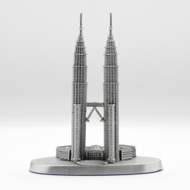 "[848] Twin Towers (S) (3' 1/2"" inches)"