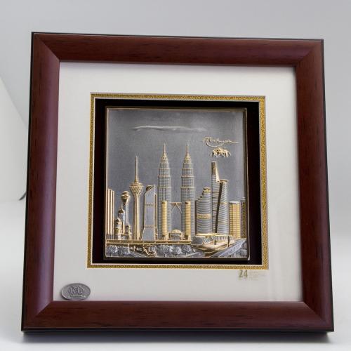 "[417G] KL Design (Gold) (10"" x 10"" inches)"