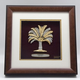 "[849G] Kelapa Sawit (Gold) (10"" x 10"" inches)"