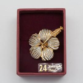 [786] Bunga Raya (Gold) (L)