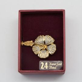 [787] Bunga Raya (Gold) (S)
