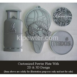 Customized Pewter Logo