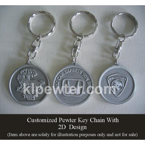 Key Chain 2D & 3D Design