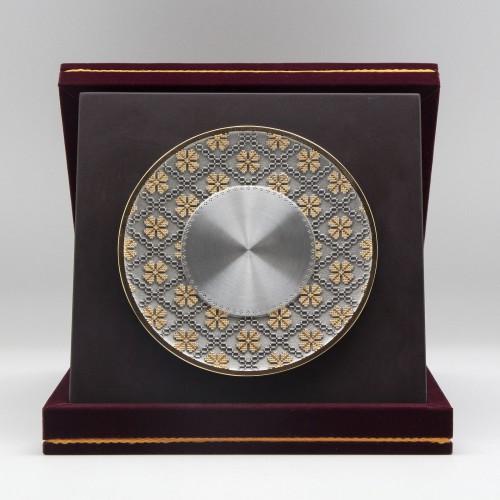 "[892G] Batik Design (Gold) (8""x8"" inches)"