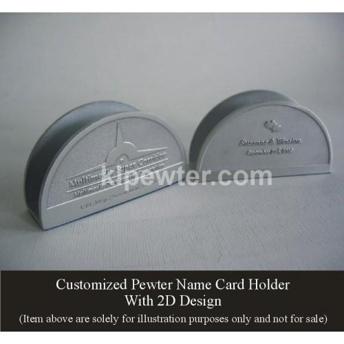 Card Holder 2D & 3D Design