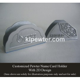Card Holder 2D & 3D Design