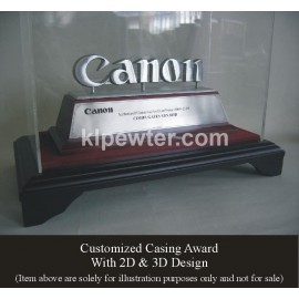 Pewter in Casing 3D Design