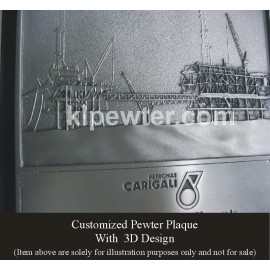 Pewter Plaque Special Order
