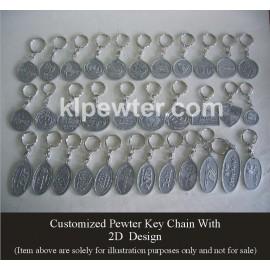 Key Chain 2D & 3D Design