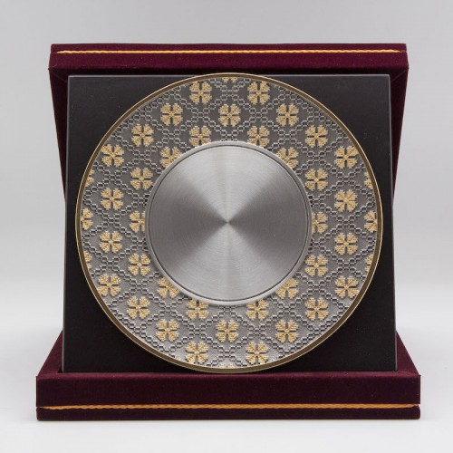 "[916G] Batik Design (Gold) (8""x8"" inches) (M)"