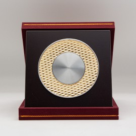 "[940G] Rhombus Design (Gold) (8""x8"" inches)"