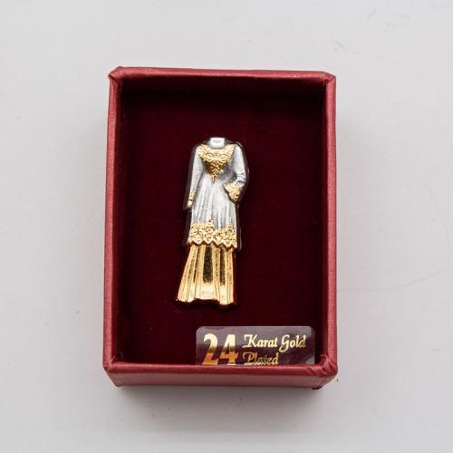 [961] Baju Kurung (Gold)