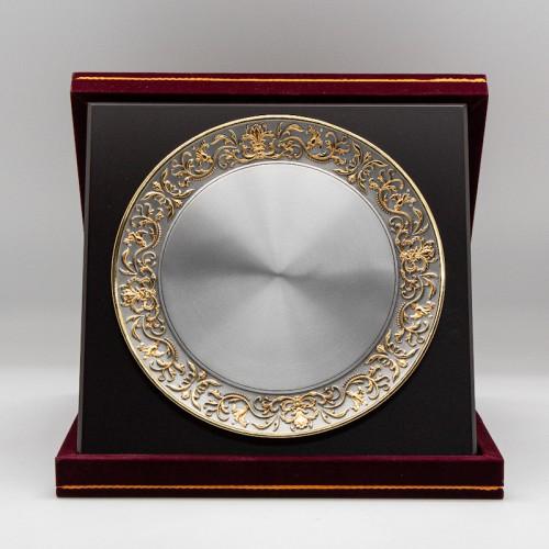 "[884G] Batik Design (Gold) (L) (10""x10"" inches)"