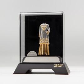 [971] Baju Kurung (Gold) (S)