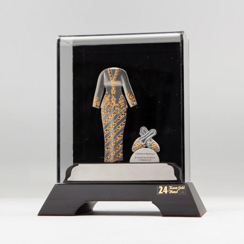 [976] Baju Kebaya Set (Gold) (S)