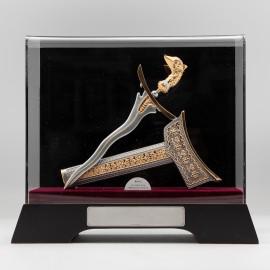 [986G] 马来短剑 (镀金) (大)