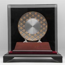 [995G] Songket Design (Gold) (XL)