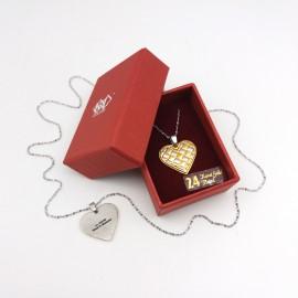 [739] Love Shape (Gold)