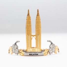 [587G] Twin Towers (Gold)