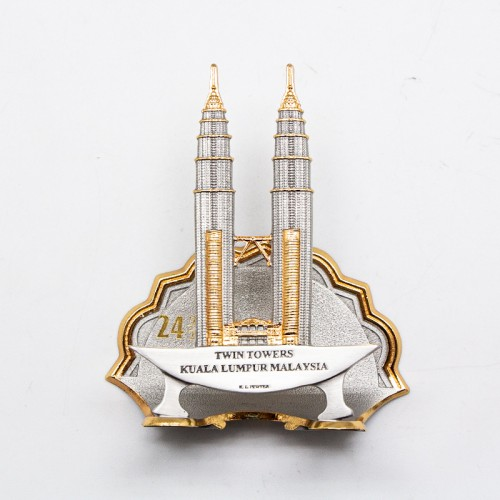 [478G] Twin Towers (Gold)