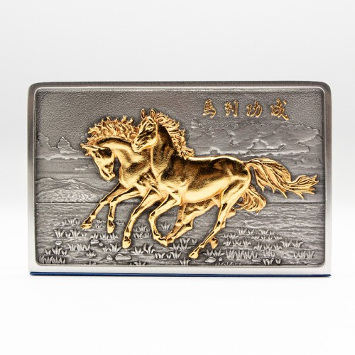[919G] 马 (镀金)