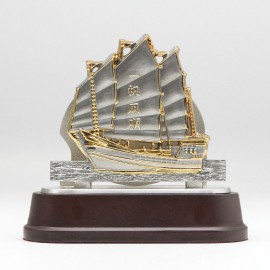 [917G] Sailing Boat (Gold)