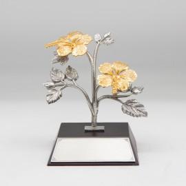 [1000] Bunga Raya (Gold) (2 Medium)