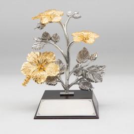 [1002] Bunga Raya (Gold) (2 Medium, 1 Large)