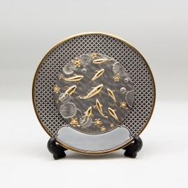 """[1007G] Koi Fish (Gold) (6"""" inches)"""